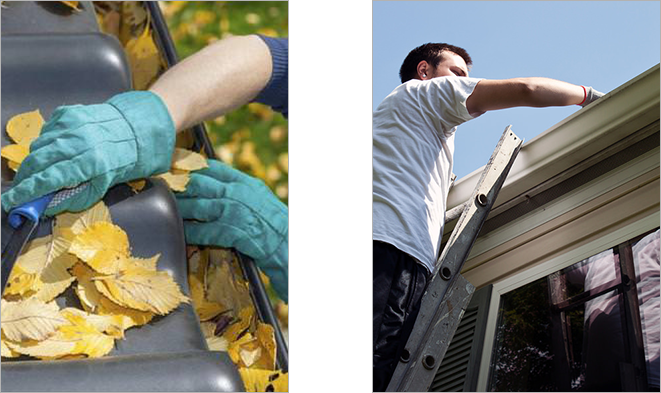 Gutter Cleaning in Brighton